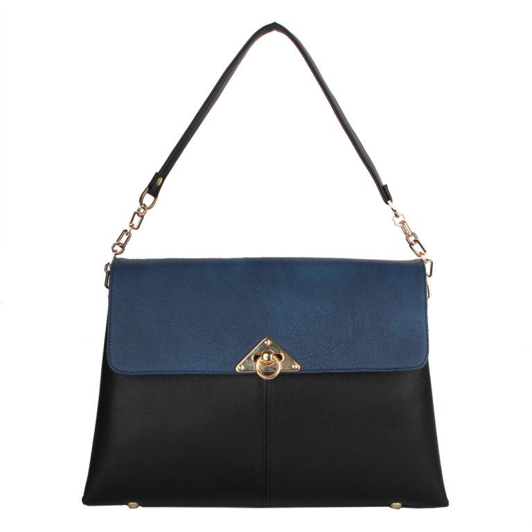 Оригинальная женская сумка Грифон синий / черный , артикул 14С549