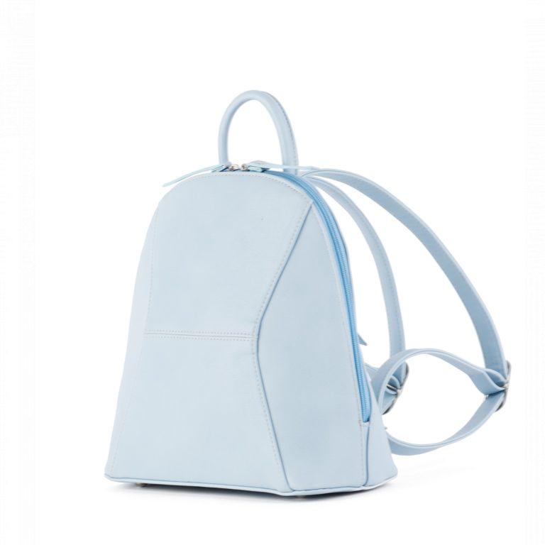 Небольшой женский городской рюкзак Грифон нежно-голубого цвета, артикул 648