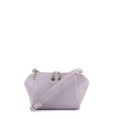 Маленькая сумка трапецевидной формы Грифон розового цвета, артикул 641