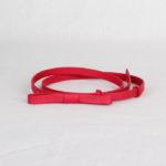 Ремень кожаный женский темно-красный Грифон, артикул 12