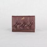 Кошелек женский коричневый Грифон, артикул 1422