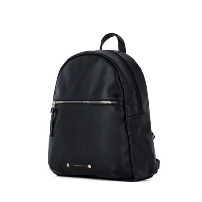 Небольшой женский городской рюкзак Грифон черного цвета, артикул 656