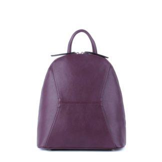 Небольшой женский городской рюкзак Грифон насыщенного бордового цвета, артикул 648