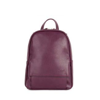 Небольшой женский городской рюкзак Грифон бордового цвета, артикул 15С541