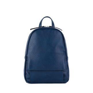 Небольшой женский городской рюкзак Грифон синего цвета, артикул 15С541
