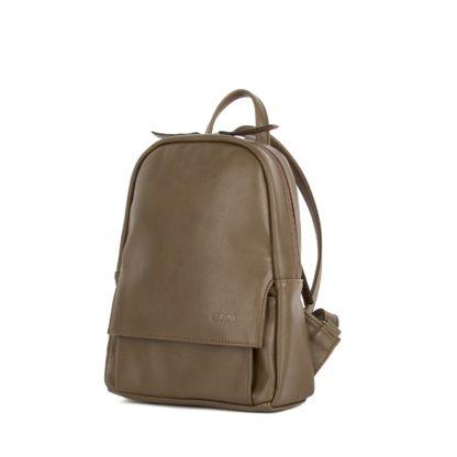 Небольшой женский городской рюкзак Грифон цвета хаки, артикул 15С541