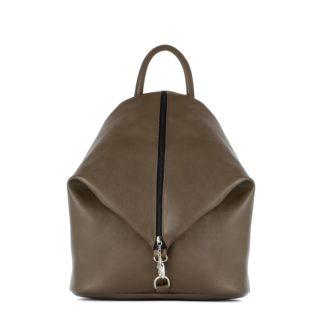 Небольшой женский городской рюкзак Грифон цвета хаки, артикул 15С565