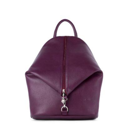 Небольшой женский городской рюкзак Грифон бордового цвета, артикул 15С565