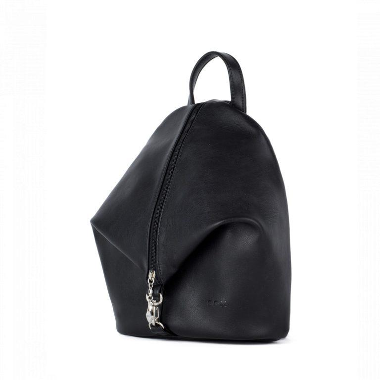 Небольшой женский городской рюкзак Грифон черного цвета, артикул 653