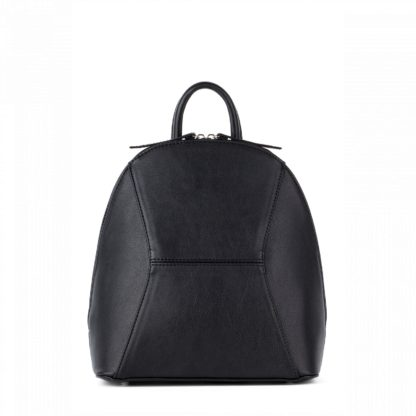 Небольшой женский городской рюкзак Грифон черного цвета, артикул 648