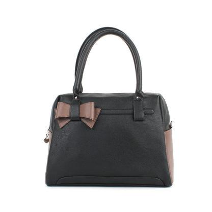 Женская сумка Грифон черный / коричневый, артикул 604