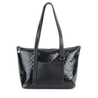 Женская сумка-шоппер Грифон черного цвета, артикул 633
