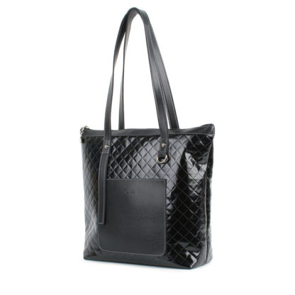 Женская сумка-шоппер Грифон черного цвета, артикул 634