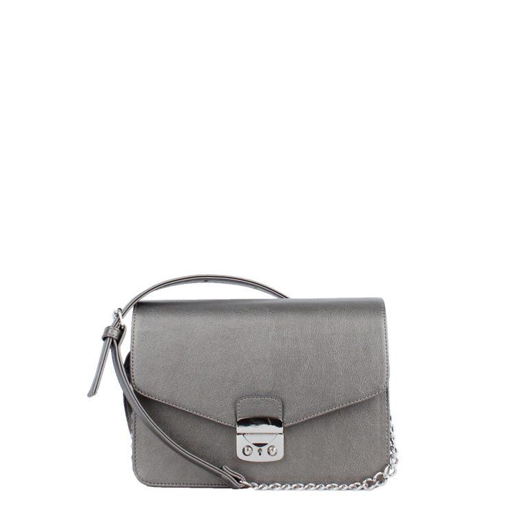 Маленькая женская сумка с цепочкой через плечо Грифон бронзового цвета, артикул 640