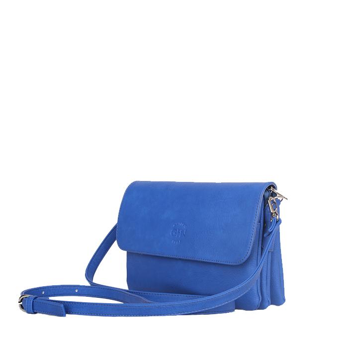 Маленькая прямоугольная сумка Грифон насыщенного синего цвета, артикул 14С529