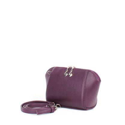 Маленькая сумка трапецевидной формы Грифон фиолетового цвета, артикул 641