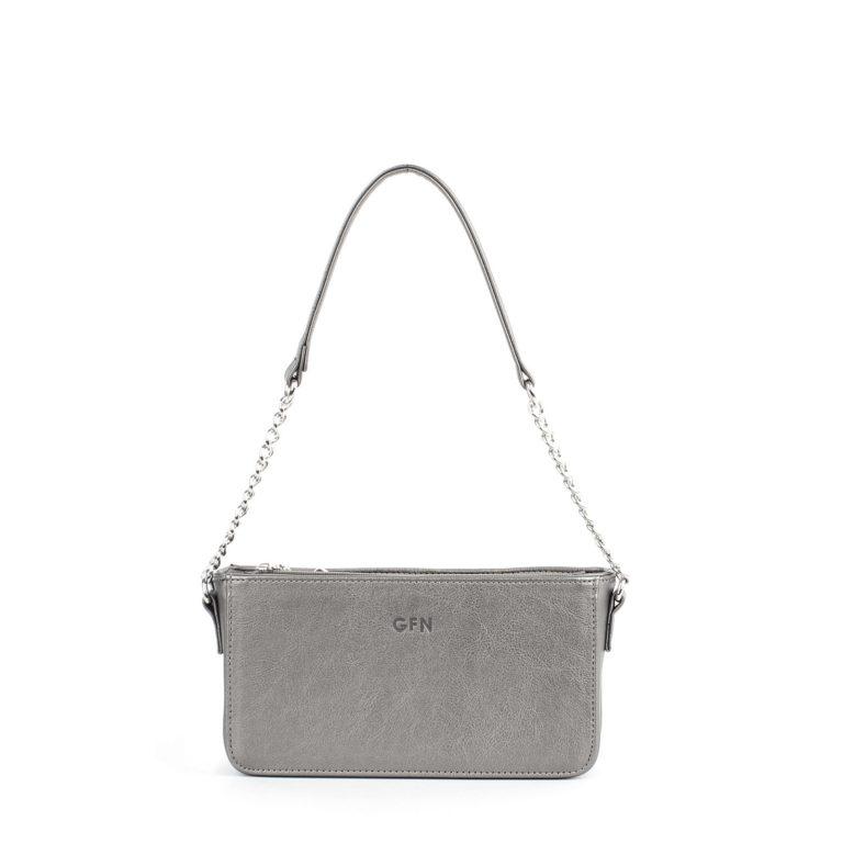 Маленькая сумка женская с цепочкой через плечо Грифон бронзового цвета, артикул 642