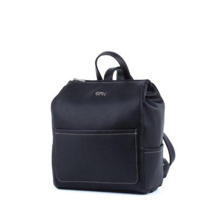 Небольшой женский городской рюкзак Грифон черного цвета, артикул 14С532