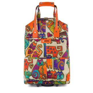 Сумка багажная Грифон с кошками многоцветная, артикул 1216