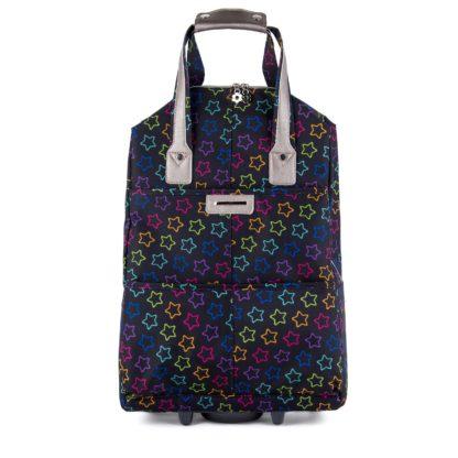 Сумка багажная Грифон со звездами многоцветная, артикул 1216