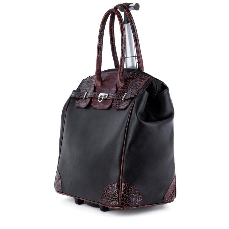 Сумка багажная Грифон черный / коричневый, артикул 667