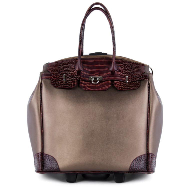 Сумка багажная Грифон цвета бронза / коричневый, артикул 667
