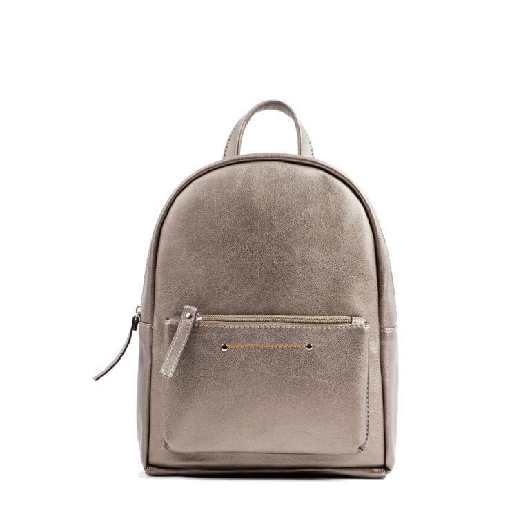 Небольшой женский городской рюкзак Грифон бронзового цвета, артикул 655