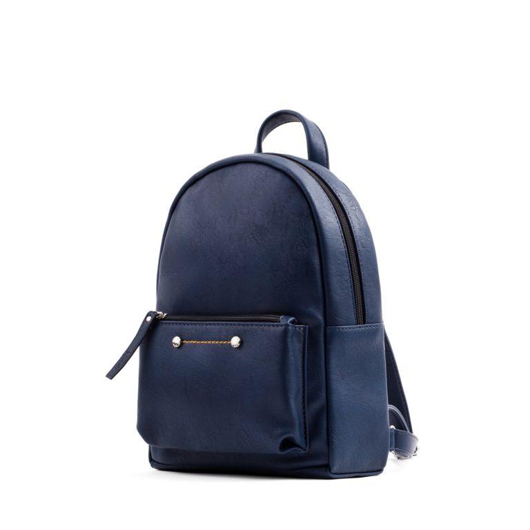 Небольшой женский городской рюкзак Грифон синего цвета, артикул 655