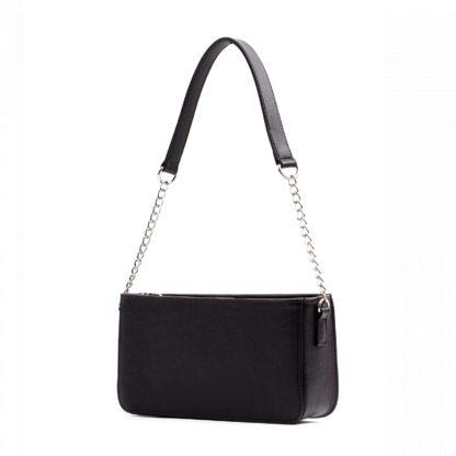 Маленькая сумка женская с цепочкой через плечо Грифон черного цвета, артикул 642