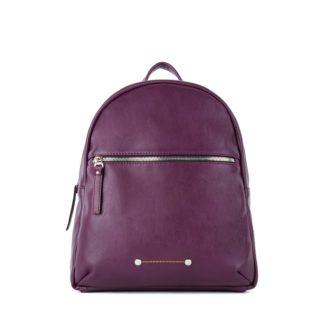 Небольшой женский городской рюкзак Грифон бордового цвета, артикул 656