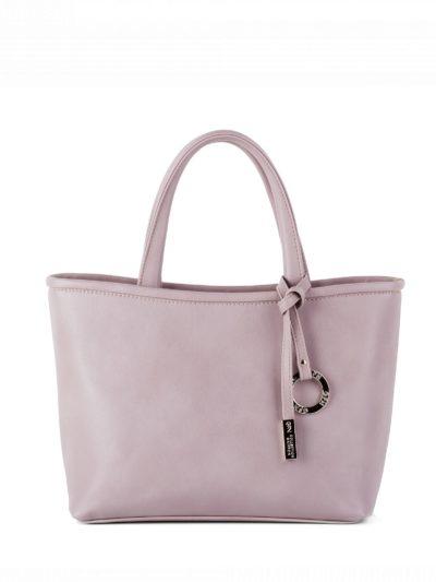 Сумка женская классическая Грифон нежно-розового цвета, артикул 645