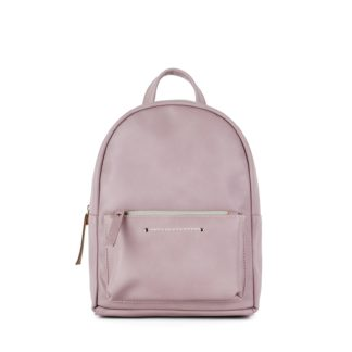 Небольшой женский городской рюкзак Грифон нежно-розового цвета, артикул 655