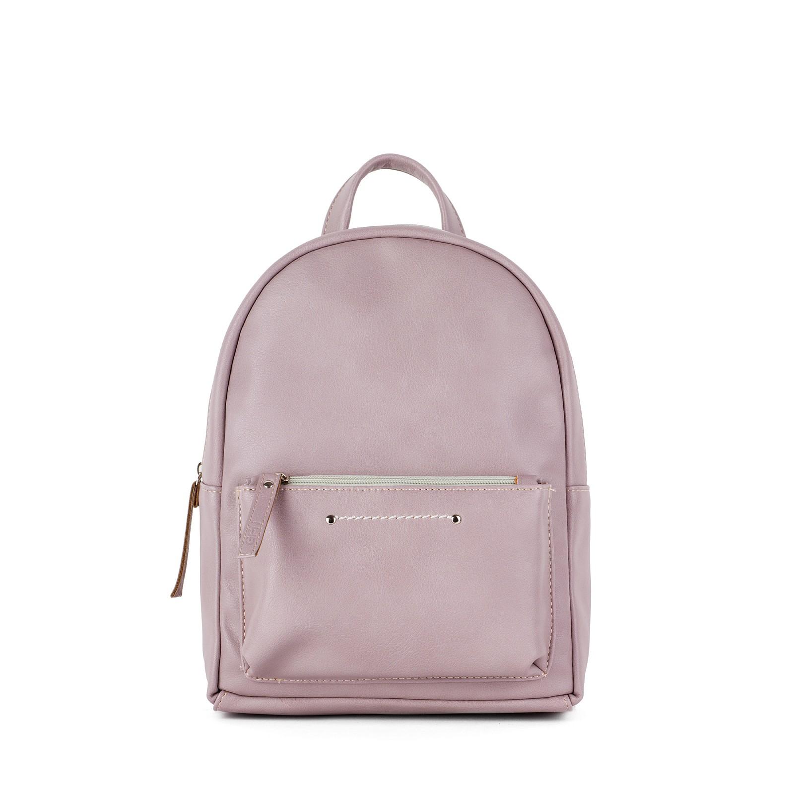 409d39d2f80c Небольшой женский городской рюкзак Грифон нежно-розового цвета, артикул 655