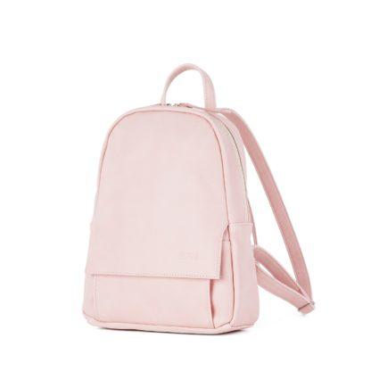 Небольшой женский городской рюкзак Грифон нежно-розового цвета, артикул 15С541