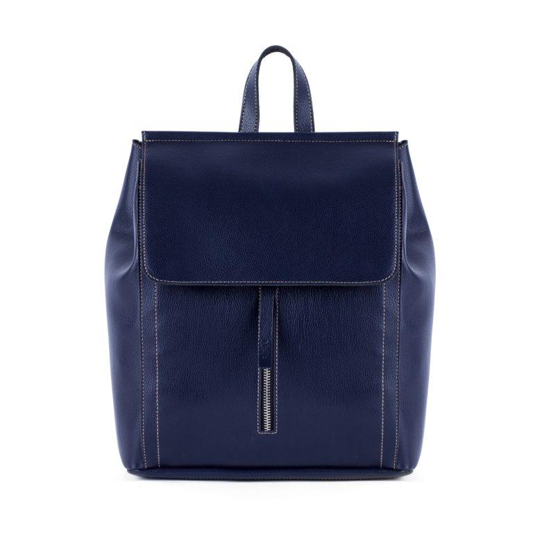 Рюкзак женский городской Грифон темно-синего цвета, артикул 673