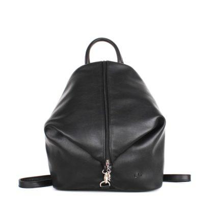 Небольшой женский городской рюкзак Грифон черного цвета, артикул 15С565