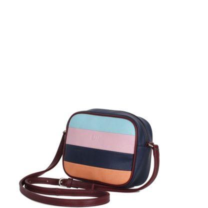 Небольшая оригинальная женская сумка Грифон в полоску, артикул 15С566
