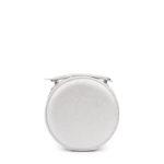 663 Сумка женская (серебро сафьян)